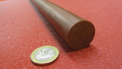 "Phenolic Garolite Micarta LE Linen Rods 1.00/"" Diameter x 24/"" Long"