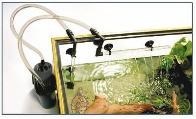 Eden 501 Außenfilter inkl Filtermaterial für Aquarien bis 60 Liter + Geschenk 4