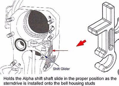 Original Mercury Mercruiser Montagewerkzeug Alpha One Gen II Shift Slide Tool