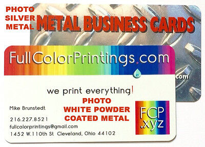 500 full color custom printed metal business cards with rounded 500 full color custom printed metal business cards with rounded corners reheart Gallery