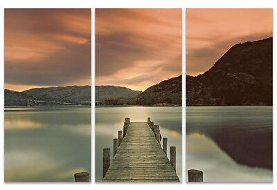Ullswater by Mel Allen Lake Print 19.75 X15.75