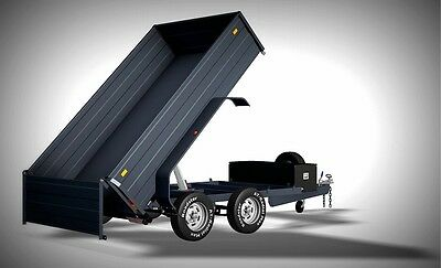 Trailer Plans - 3400kg HYDRAULIC TIPPING TRAILER PLANS -PLANS ON USB Flash Drive 2