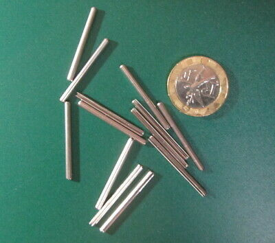 Stainless Steel.Metric Slotted Spring Pin, M2 Dia x 30 mm Length, 50 pcs 11