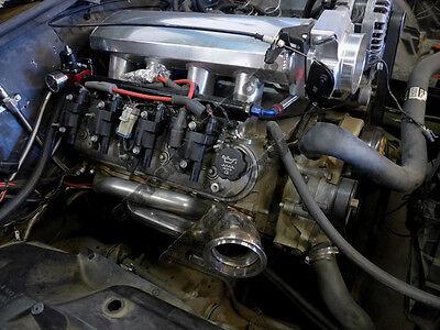 CX TWIN TURBO Header Manifold Kit For G-Body LS1 LS Motor Cutlass Grand  National