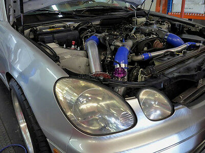 "3/"" Cold Air Intake Kit w//Filter For 98-05 Lexus IS300 2JZ-GTE Stock Twin Turbo"
