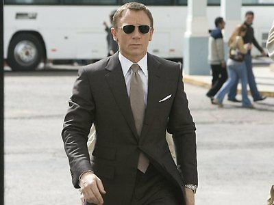 e08ad652143 ... JAMES BOND 007 SKYFALL Blue TOM FORD Aviator Marko Sunglasses TF 144  18V FT 0144 8