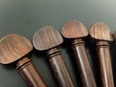 Oud Pegs Rosewood Swiss Models A quality with Persian Eye 55/9/7 mm 12 pcs Lot 4
