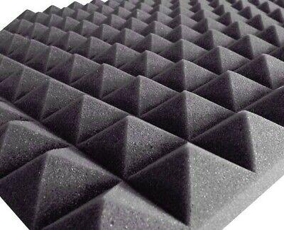 Pannelli Fonoassorbenti Piramidali Poliuretano 100 X 50 X 5Cm 0,5Mq 3