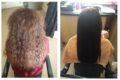Brazilian Keratin Blow Dry Moroccan Hair Treatment Kit w/ Shampoo Free P+P UK