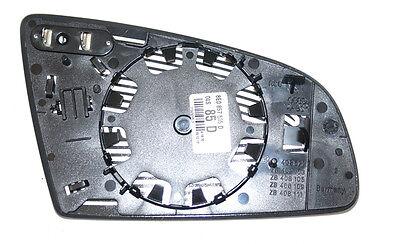 Original AUDI A3 A4 A6 RS4 Außenspiegelglas mit Platte konvex links 8E0857535D