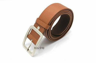 Les hommes cuir véritable robe ceinture Casual pin boucle ceinture courroi CH 4