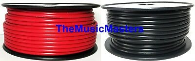 16 Gauge 100' ft each Red Black Auto PRIMARY WIRE 12V Wiring Car Power Cable 6