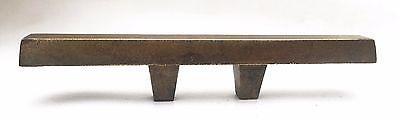 """Brass Mid Century Modern Drawer Pull Vintage  Antique Hardware  1 3/8"""" centers 2"""