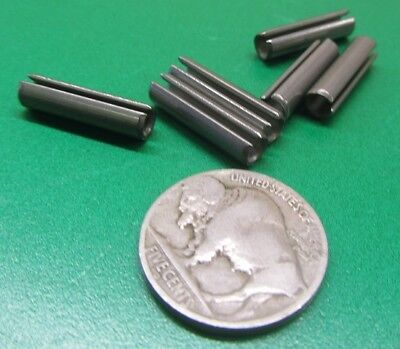 """420 Stainless Steel, Slotted Roll Spring Pin, 3/16"""" Dia x 3/4"""" Length, 100 pcs 4"""