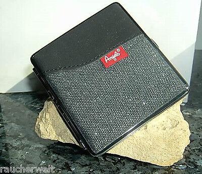 Zigaretten Etui Box Dose mit Leder Jeans Design Qualität zum Sonderpreis 0188 Tabak, Feuerzeuge & Pfeifen