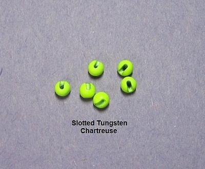 20 SLOTTED TUNGSTEN beads/>3.0mm/>6 Color Choices/>COMBINE SHIPPING