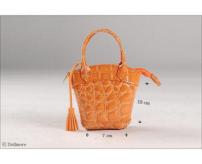 Orange Lux /& BK Handbag Dollmore 1//4 1//3 BJD accessory  Free