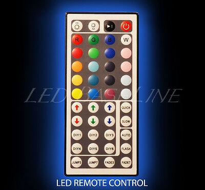 "48"" 2 Tier WALL-MOUNT LED LIGHTED BAR SHELF Home/Bar Liquor Bottle Display Rack 6"