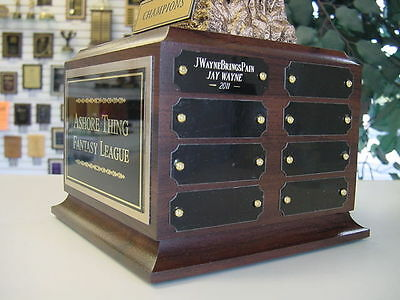 Fantasy Football Perpetual Trophy 16 Y Ffl Monster New Color Ffl Logo!