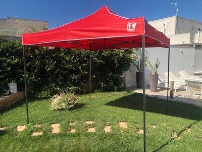 Gazebo Pieghevole 3X3 Richiudibile Con Sacca Tenda Tendone Mercato Fiera 8