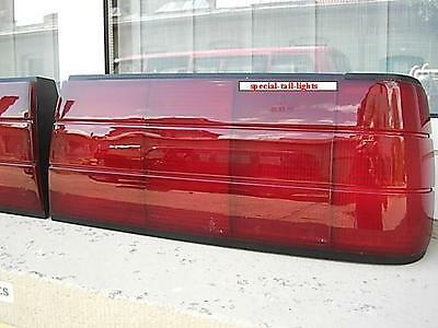 Schwarze Rückleuchten Lasierung / Lasur / Lasieren Ihrer BMW E30 Rückleuchten FL