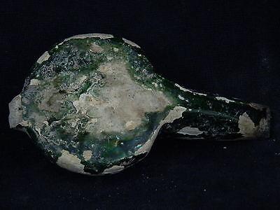 Ancient Glazad Ceramic Oil Lamp Islamic 1000 AD  #S3587