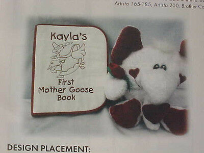 Patterns Lot Sewing Instructions Workshop Projects Mother Goose Book Advent 2