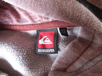 Sweat Quiksilver Taille 12 ans à - 41% 3 • EUR 28,99