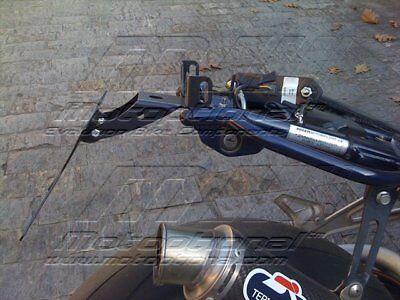 Porta Targa Regolabile Anche A 30° Ducati Monster Telaio Tagliato 4