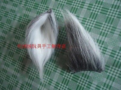 1 of 3free shipping wolf fox party ears tail long fur plush halloween cosplay costume prop custom