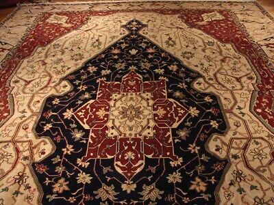 12x18 (141 x 212 in) Chobi Beige Wool Egyptian Fine Quality Handmade Rug 2