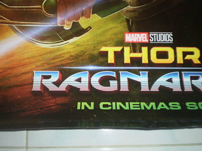 Movie Thor Ragnarok Poster Original Marvel 2017 27x40 Theater Ds S Sided 7