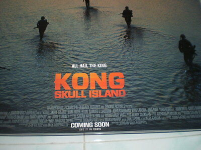 Kong Skull Movie Island Poster 27x40 Original Theater 2017 S D Sided Exclusive 7