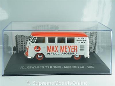 VOLKSWAGEN T1 MAX MEYER VAN MODEL 1959 1//43RD SIZE ALTAYA//IXO VERSION R0154X{:}