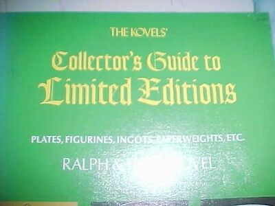 The Kovel's Collector's Guide to Limited Editions by Ralph & Terry Kovel  C1974