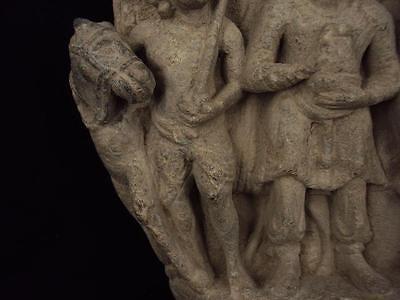 Ancient Large Size Schist Stone Stupa Panel Gandharan/Gandhara 100 AD  #SG2103 4
