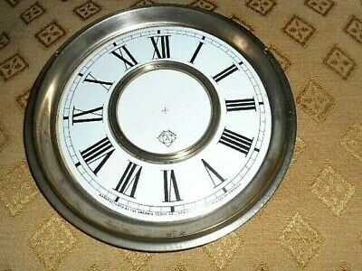 For American Clocks- Ansonia Paper (Card) Clock Dial - 125mm M/T - Parts/Spares 7