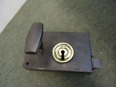 Unusual Door Latch & Keep 5