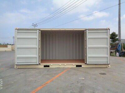 Open Side (OS) - 20' New / One Trip Shipping Container in Atlanta, GA 4