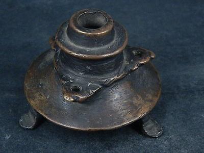 Ancient Bronze Pot Islamic 1400 AD No Reserve #S4790 3