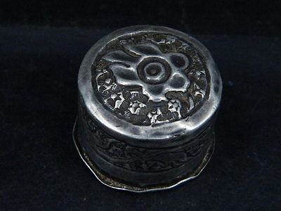 Antique Kashmiri Silver Box   #SG5958 4