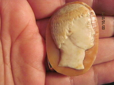 For the serious collector - Museum Quality Genuine Antique Roman Cameo 2