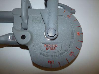 """RIDGID Nr. 368 Rohrbiegevorrichtung 3/4"""" / Radius 95mm Rohrbieger 2"""