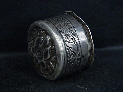 Antique Kashmiri Silver Box   #SG5958 5