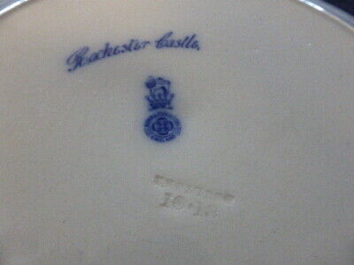 Royal Doulton -display plate- Rochester Castle -England 5