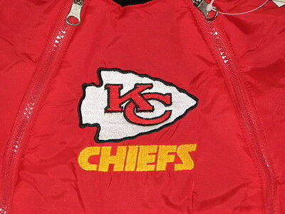 a163480e NEW KANSAS CITY Chiefs Baby Fleece Snowsuit Jacket Size 6/9M 6/9 Mo Boys  Girls