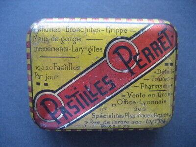 Metall Box Taschenapotheke Pastillen Perret Francesa. mit Bpz Innen 2