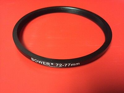 1(ONE) ADAPTER-RING: Black 77mm to 72mm 77-72mm Step Down Filter Ring 77-72 mm 2