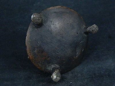 Ancient Bronze Pot Islamic 1400 AD     #S4790 5