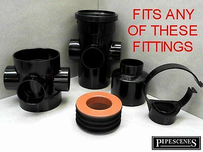62mm x 32mm 62mm x 36mm Solvent Weld Glued Boss Adapter Fits Polypipe Floplast